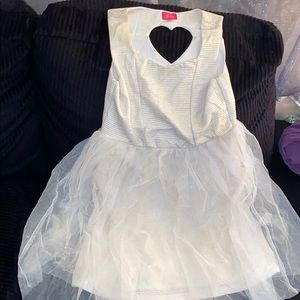 Young girl party dress